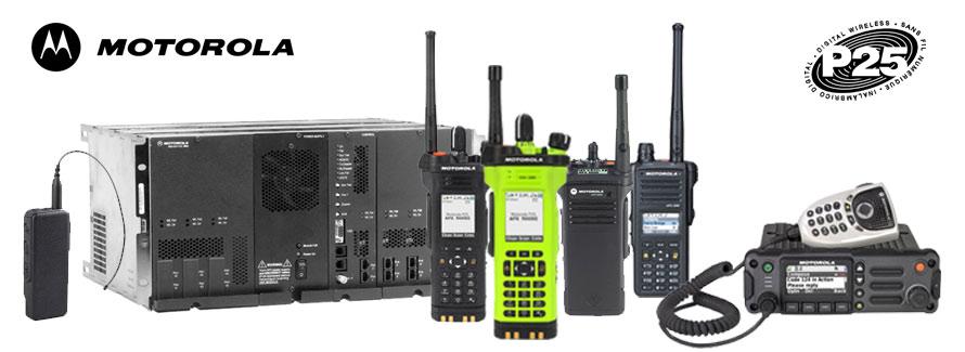 radio trunking distributors motorola project p25 products